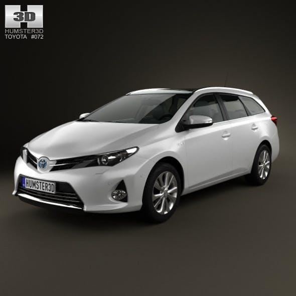 Toyota Auris Touring Hybrid 2013