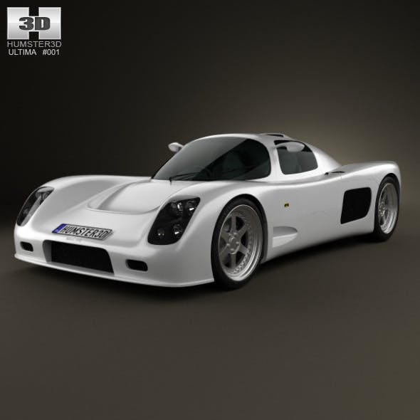 Ultima GTR 2009 - 3DOcean Item for Sale