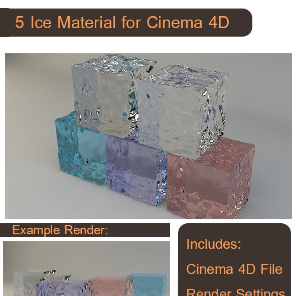 5 Ice Material For C4D