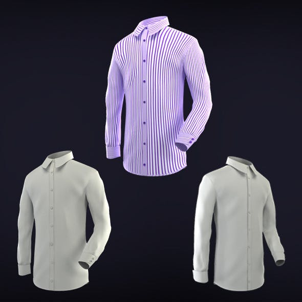 Long Sleeve Shirt - 3DOcean Item for Sale