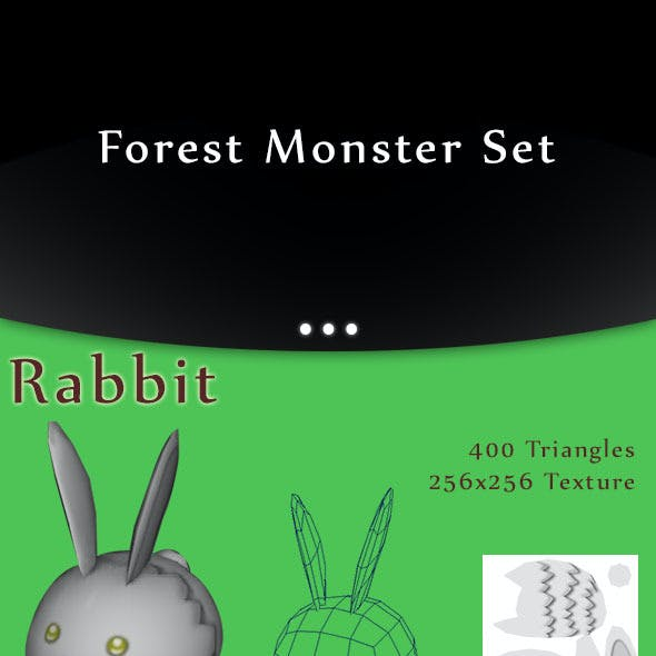 Low-Poly Forest Monster Pack