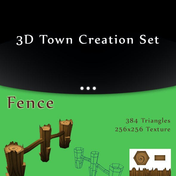 Low-Poly Town Creation Set