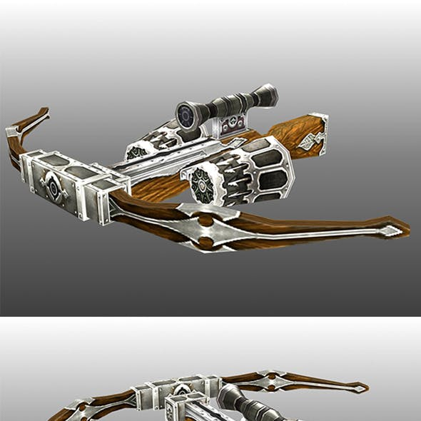 Lowpoly Crossbow