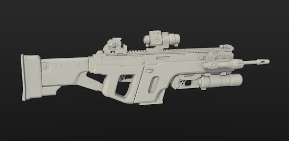 Weapon SS - 3DOcean Item for Sale
