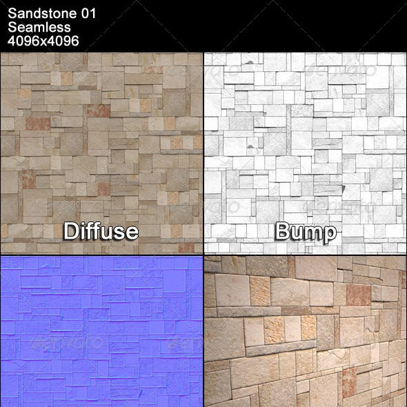 Sandstone Seamless Texture 01