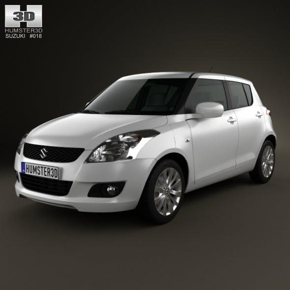 Suzuki Swift hatchback 5-door 2012 - 3DOcean Item for Sale