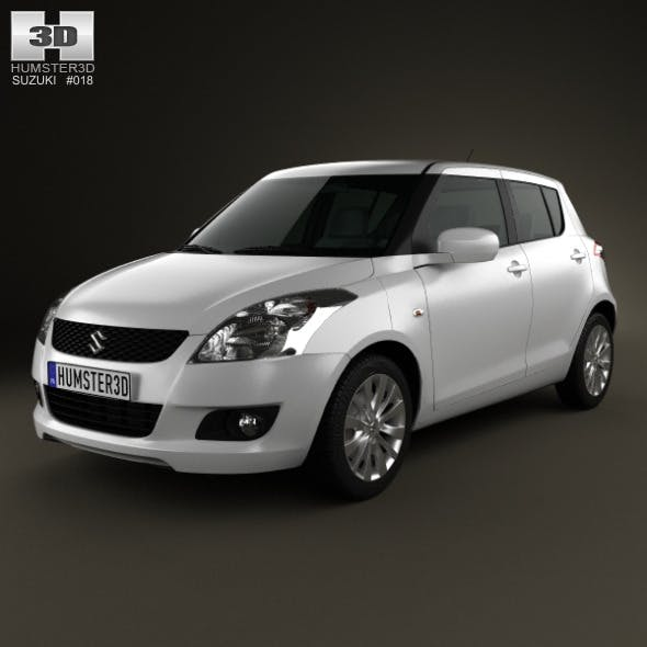 Suzuki Swift hatchback 5-door 2012