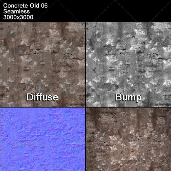 Concrete Old 06 Tileable