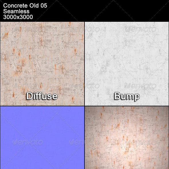 Concrete Old 05 Tileable