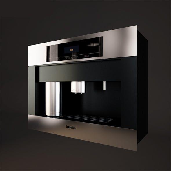 Coffee Machine Miele - 3DOcean Item for Sale
