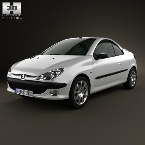 Peugeot 206 CC 2005 - 3DOcean Item for Sale