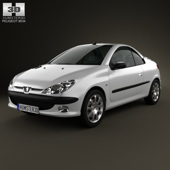 Peugeot 206 CC 2005