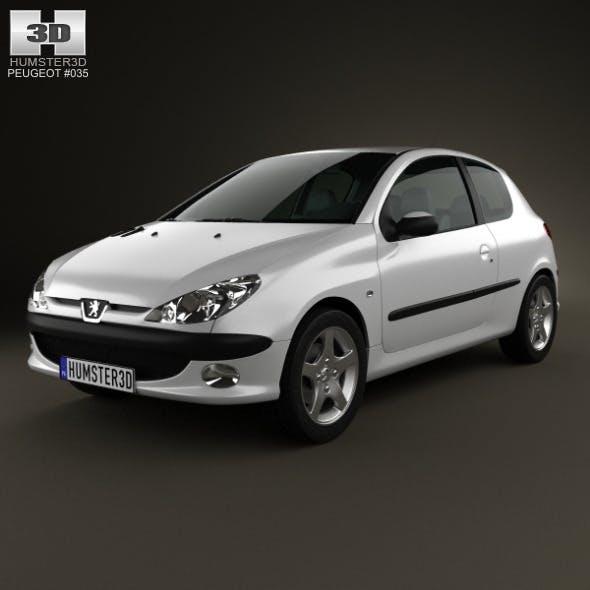 Peugeot 206 hatchback 3-door 2005 - 3DOcean Item for Sale