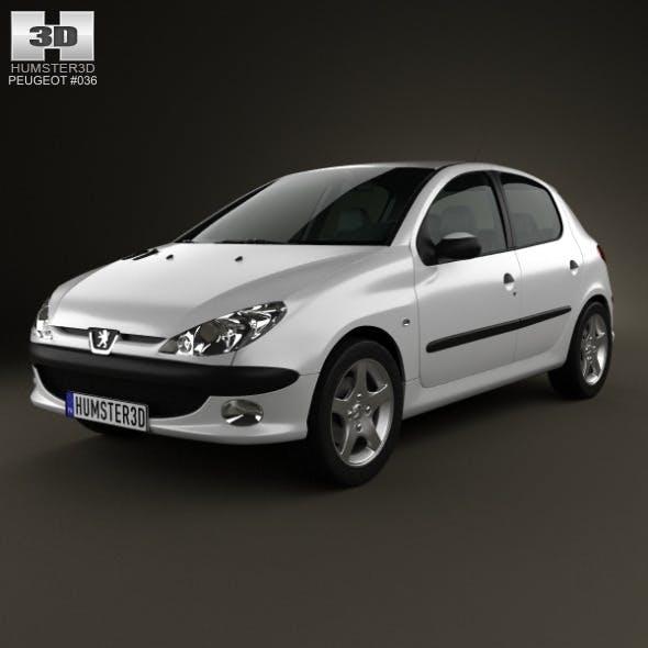 Peugeot 206 hatchback 5-door 2005 - 3DOcean Item for Sale