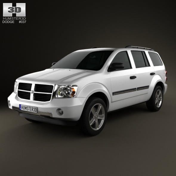 Dodge Durango 2008 - 3DOcean Item for Sale