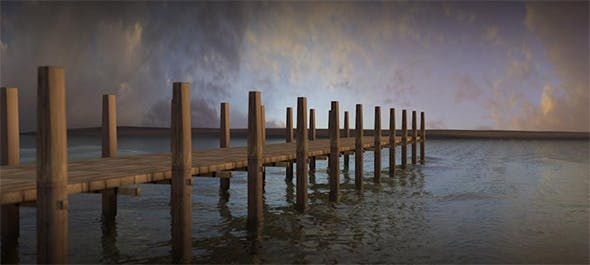Pier / Seaport - 3DOcean Item for Sale