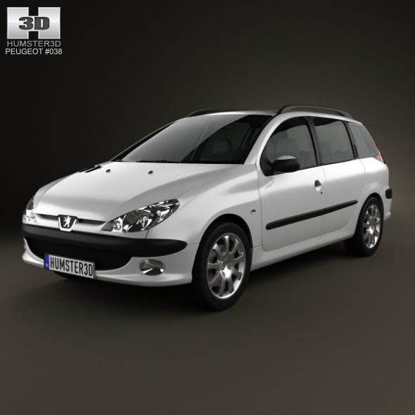 Peugeot 206 SW 2005 - 3DOcean Item for Sale