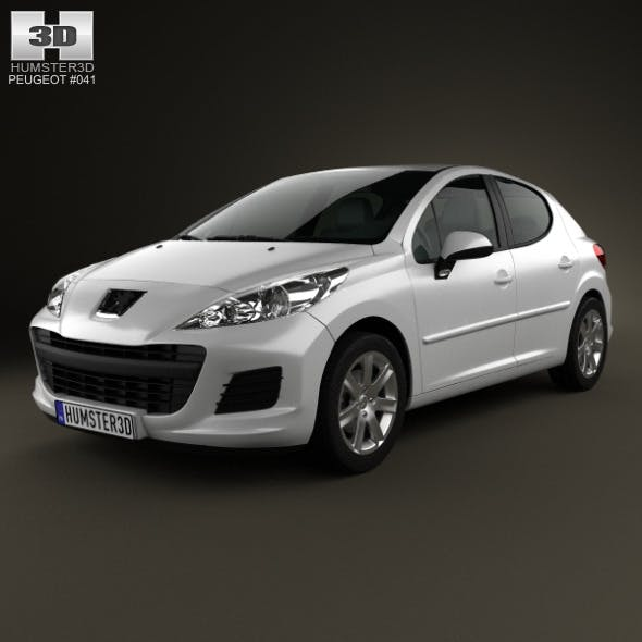 Peugeot 207 hatchback 5-door 2012