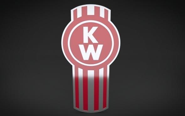 KenWorth Logo - 3DOcean Item for Sale