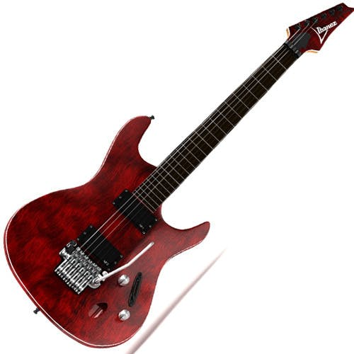 Guitar Ibanez with textures - 3DOcean Item for Sale