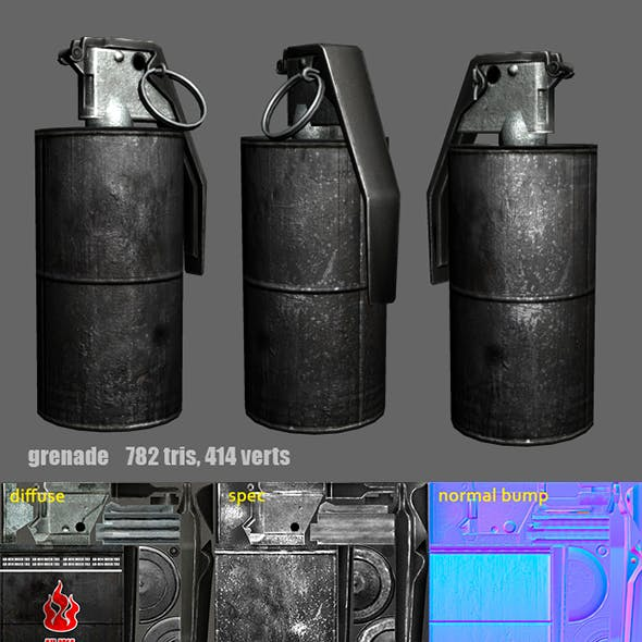 Grenade m14 m18 (Flash / Fire / Smoke)