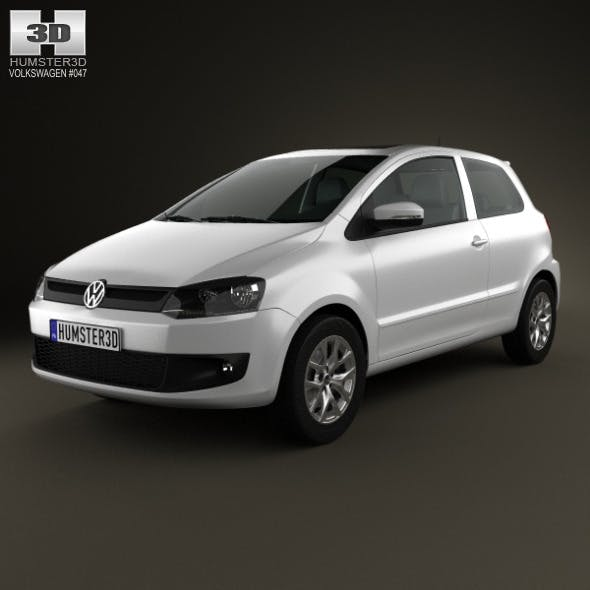 Volkswagen Fox 3-door 2012 - 3DOcean Item for Sale