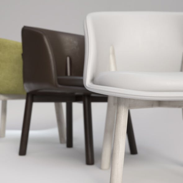 Peg Chair by Nendo - 3DOcean Item for Sale