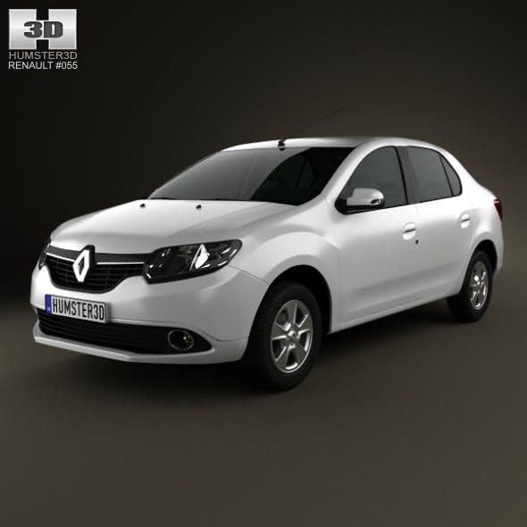 Renault Symbol (Logan) 2013 - 3DOcean Item for Sale