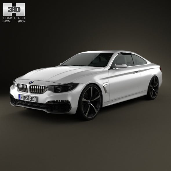 BMW 4 Series coupe 2013 - 3DOcean Item for Sale