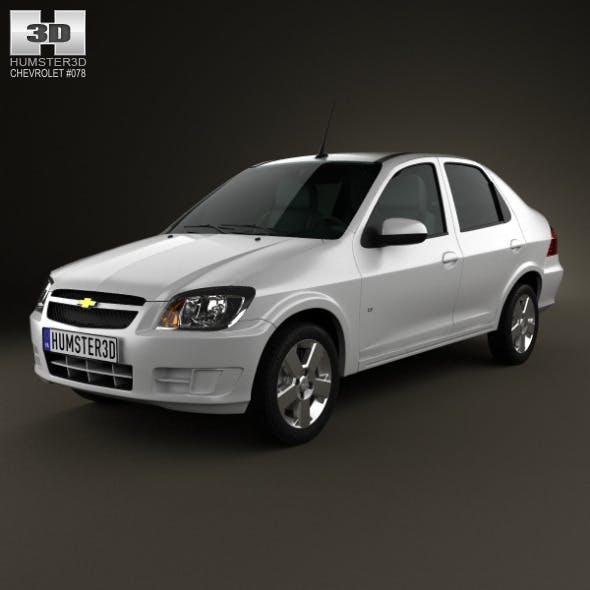 Chevrolet Prisma 2013 - 3DOcean Item for Sale
