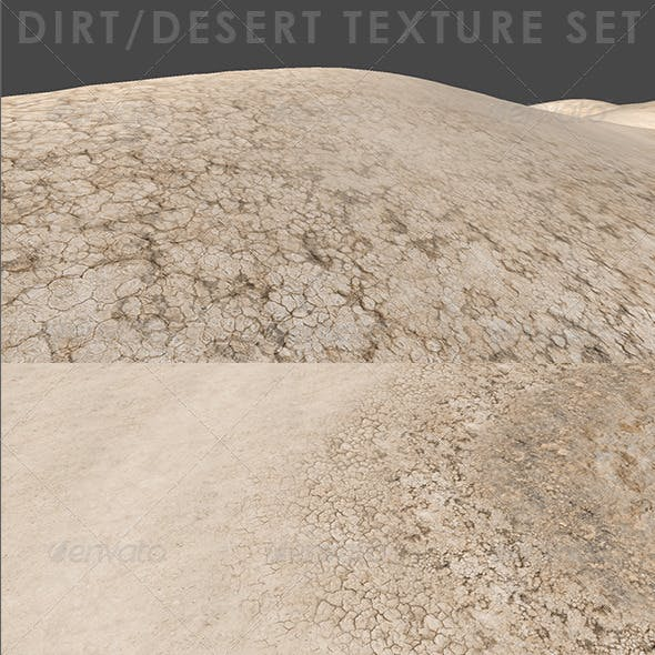 Desert Dirt Texture Set