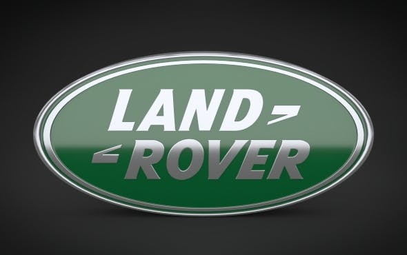 Land Rover Logo - 3DOcean Item for Sale