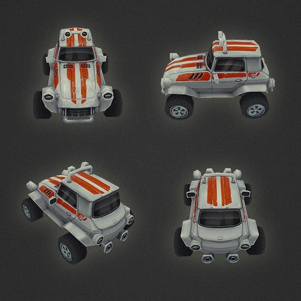 Low Poly Car 04