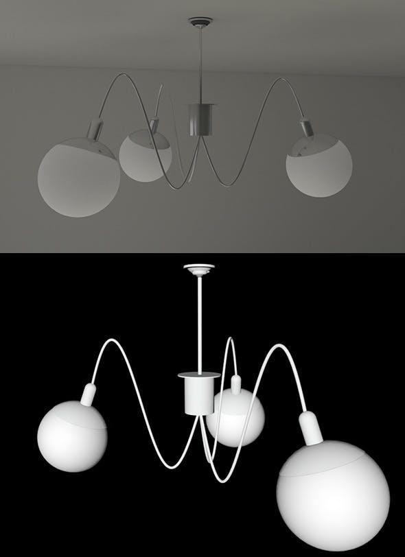 Modern Lamp - 3DOcean Item for Sale
