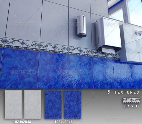 Professional Ceramic Tile Collection C017 - 3DOcean Item for Sale