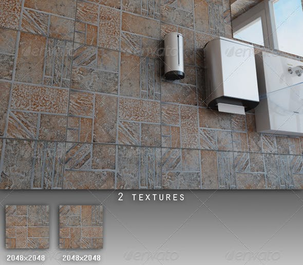 Professional Ceramic Tile Collection C022 - 3DOcean Item for Sale