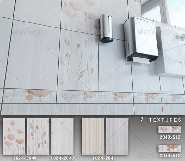 Professional Ceramic Tile Collection C023 - 3DOcean Item for Sale
