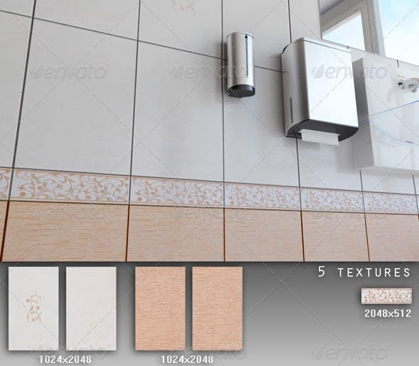 Professional Ceramic Tile Collection C024 - 3DOcean Item for Sale