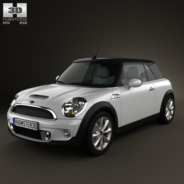 Mini Cooper S Convertible 2011 - 3DOcean Item for Sale