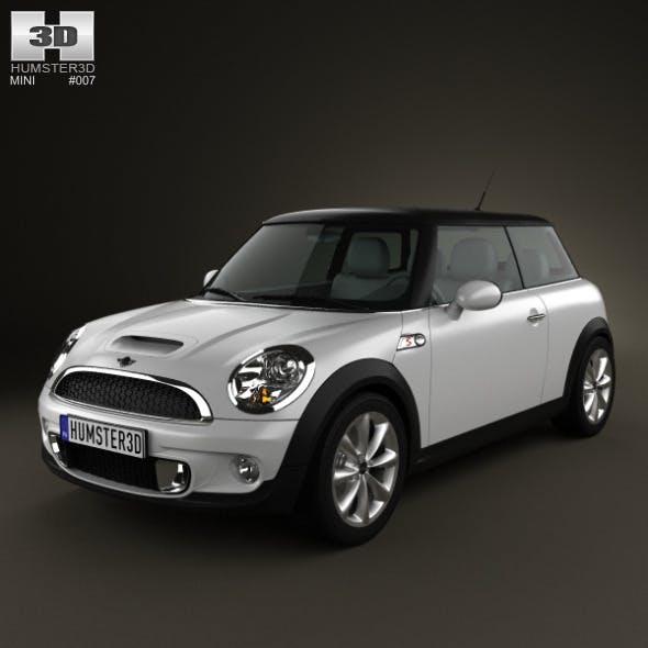 Mini Cooper S hardtop 2011 - 3DOcean Item for Sale