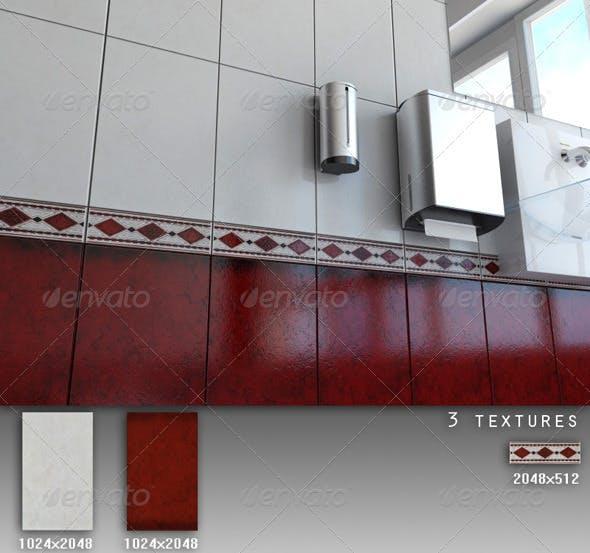 Professional Ceramic Tile Collection C030 - 3DOcean Item for Sale