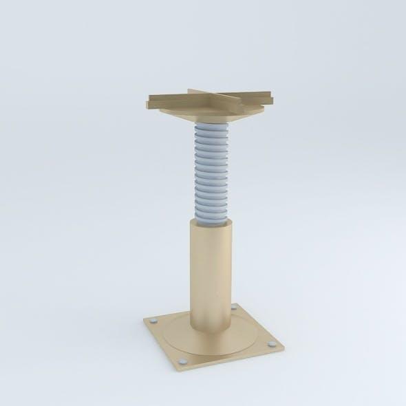 Technical Floor Pedestal - 3DOcean Item for Sale