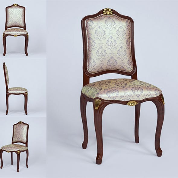 3d model chair of Ceppi