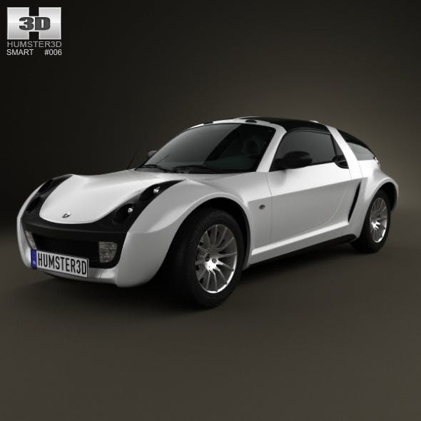 Smart Roadster Coupe 2005 - 3DOcean Item for Sale