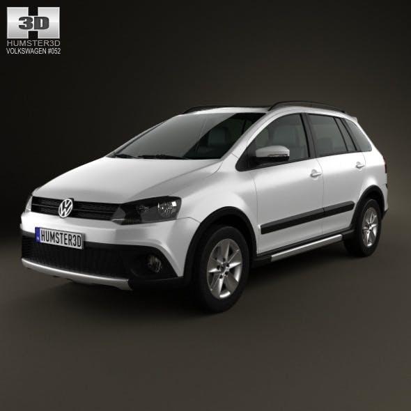Volkswagen SpaceFox Cross (Suran) 2012