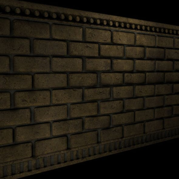 Brick Wall Section