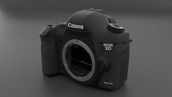 Canon 5D mark III Body - 3DOcean Item for Sale