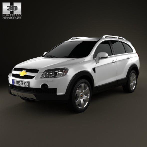 Chevrolet Captiva 2010 - 3DOcean Item for Sale