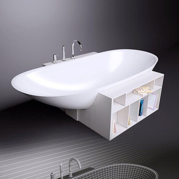 Bath Rexa Design Unico and Gessi Goccia 33637