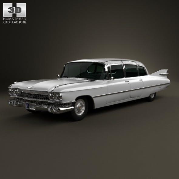 Cadillac Fleetwood 75 sedan 1959